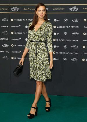 Irina Shayk - 'Snowden' Premiere at 12th Zurich Film Festival