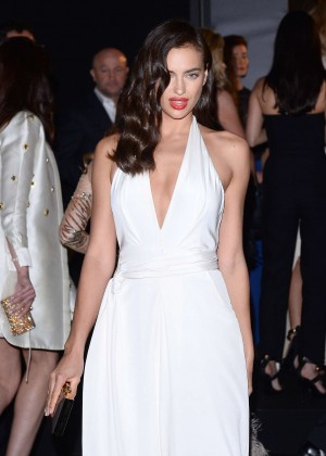 Irina Shayk - Soiree Chopard 'Gold Party' in Cannes