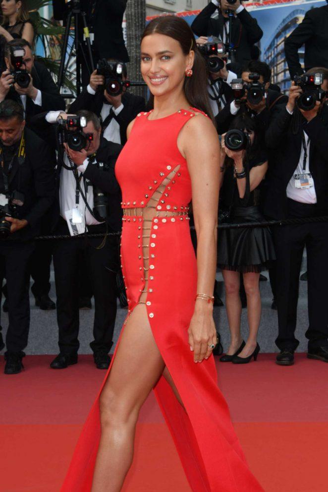Irina Shayk – 'Sorry Angel' Premiere at 2018 Cannes Film Festival