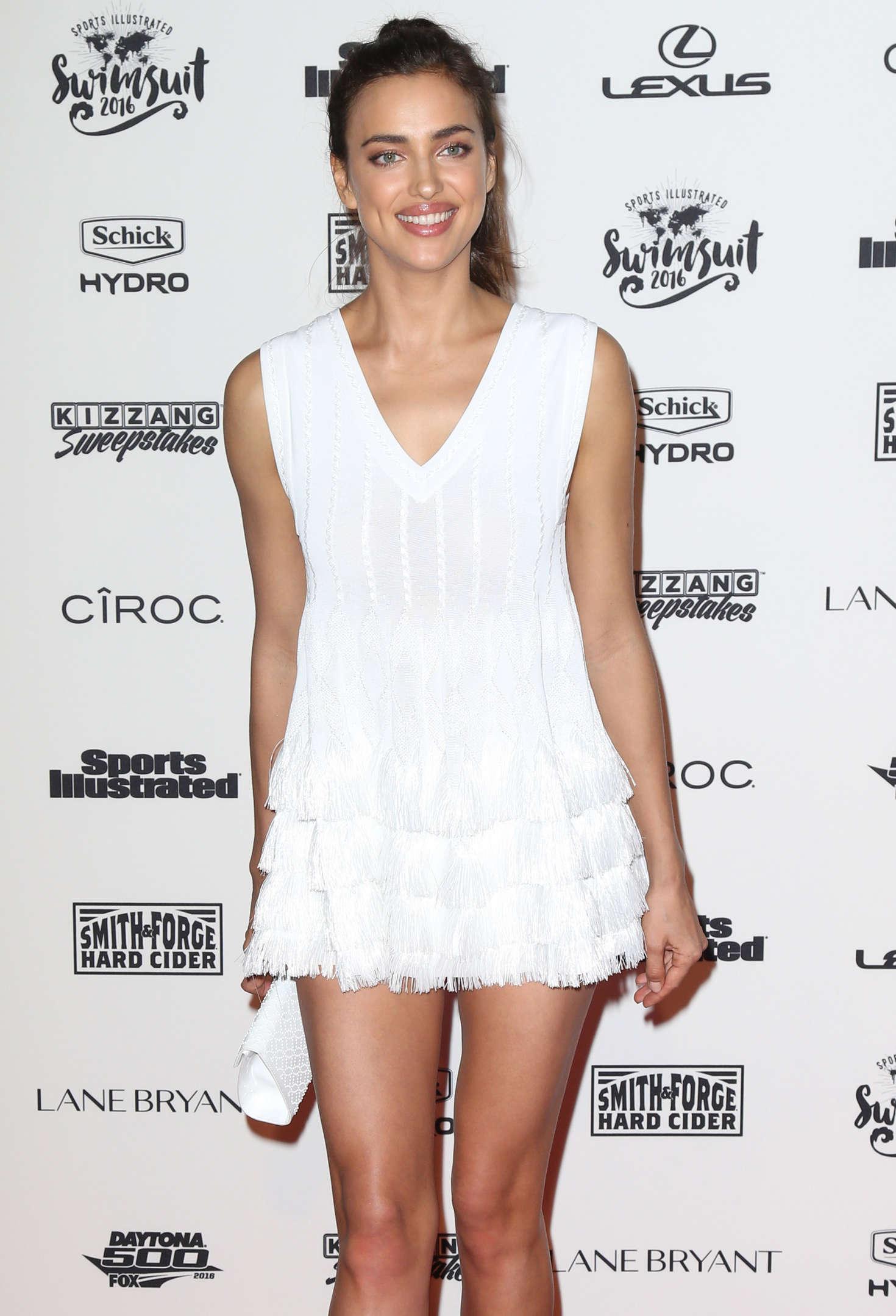 Irina Shayk - Sports Illustrated Celebrates Swimsuit 2016 VIP Red Carpet Event in NY