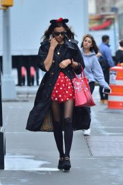 Irina Shayk - Spotted out in NYC