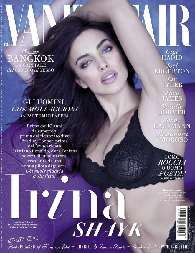 Irina Shayk - Vanity Fair Italy Magazine (March 2016)