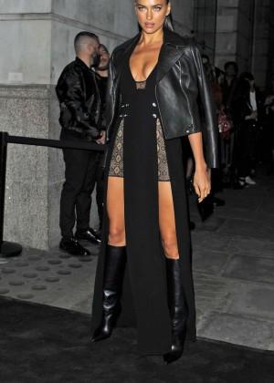 Irina Shayk - Versus By Versace Fashion Show in London
