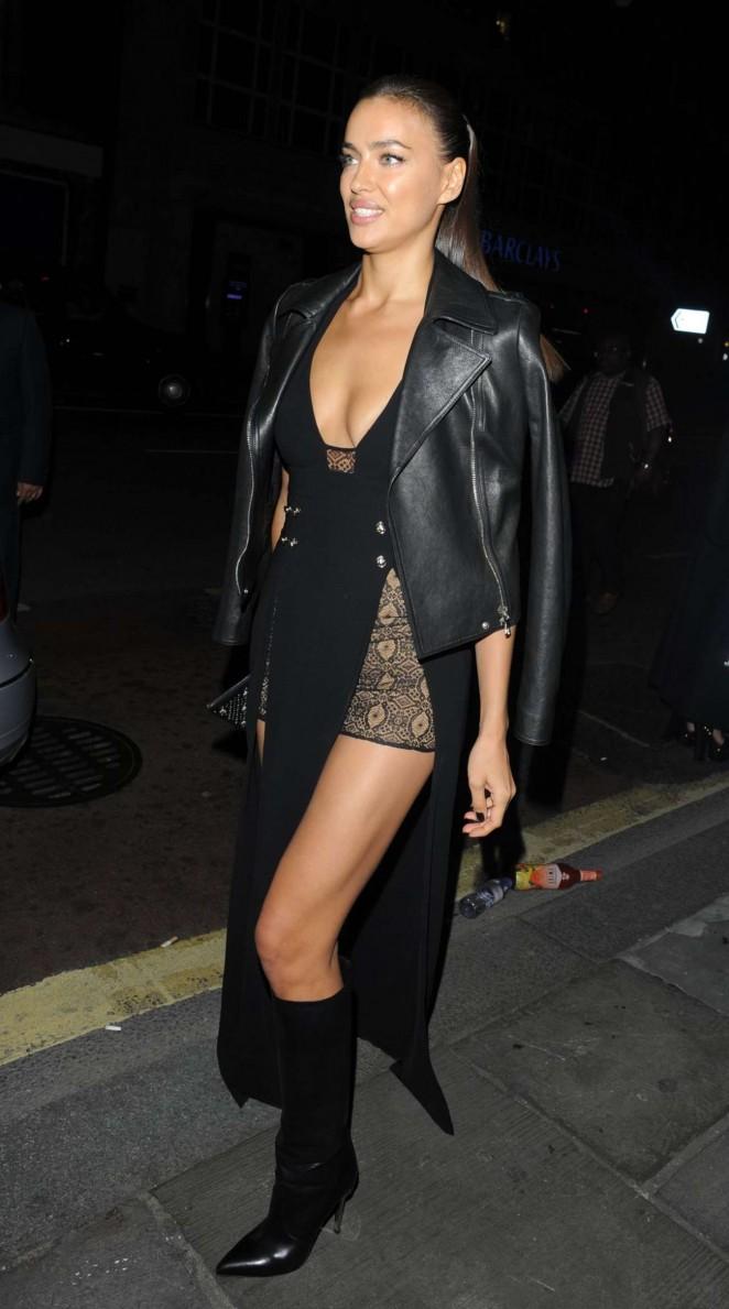 Irina Shayk: Versus By Versace Fashion Show -15