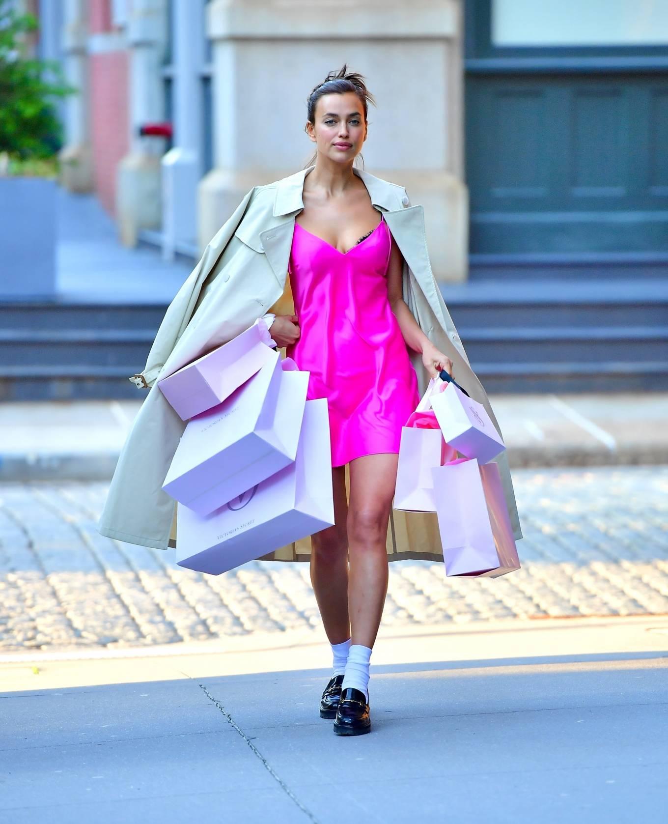 Irina Shayk 2021 : Irina Shayk – Victorias Secret photoshoot in New York-02