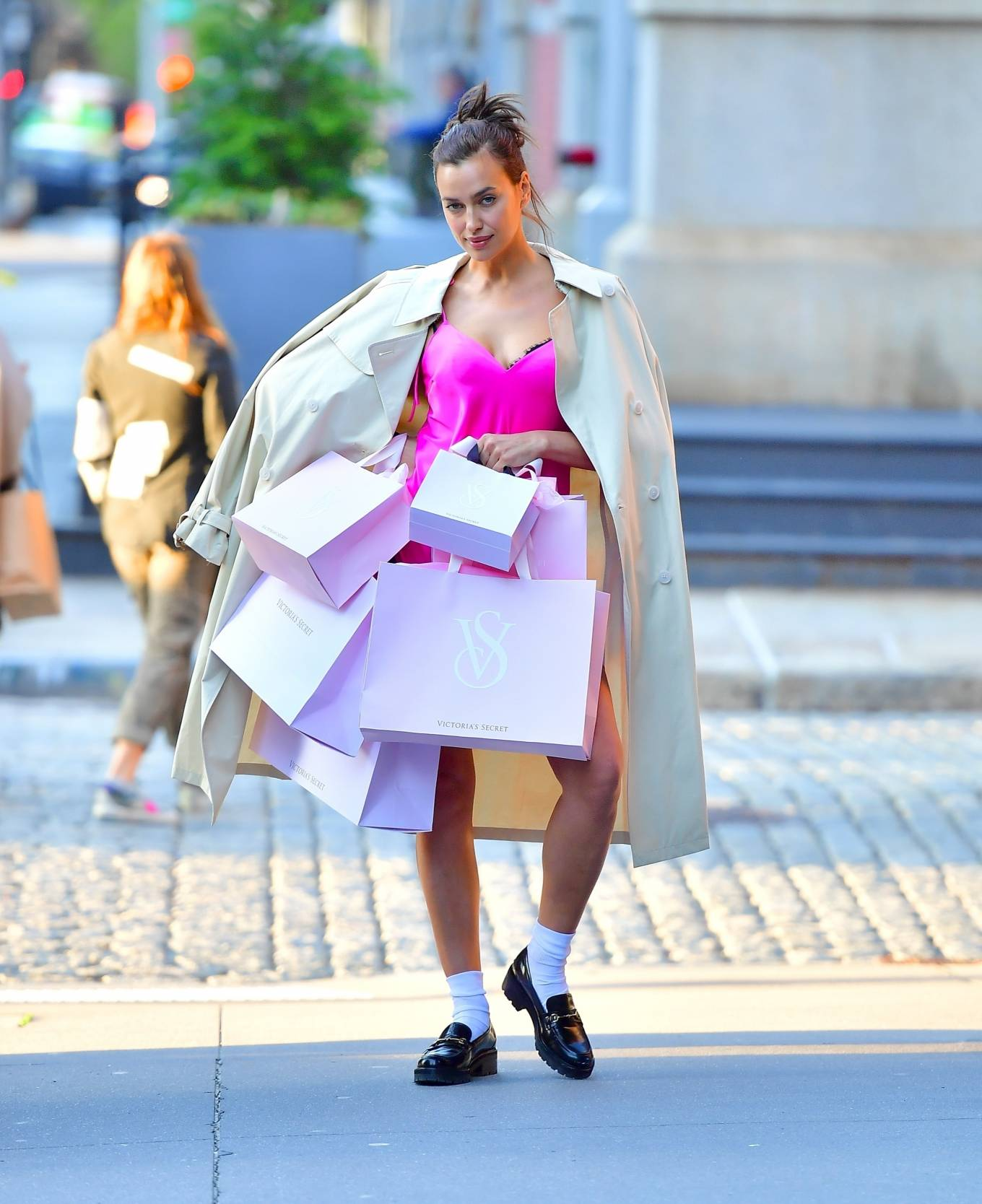 Irina Shayk 2021 : Irina Shayk – Victorias Secret photoshoot in New York-03