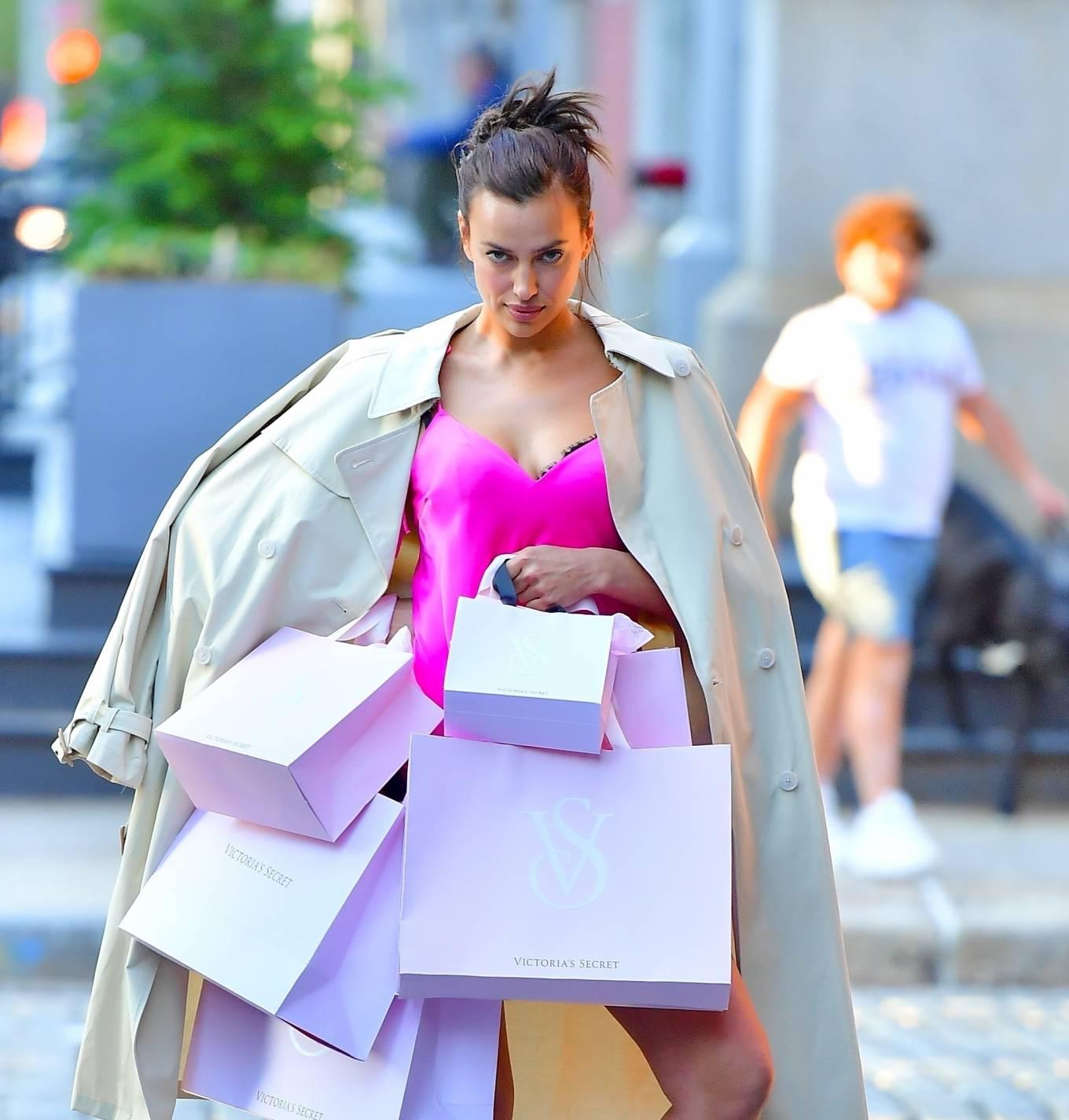 Irina Shayk 2021 : Irina Shayk – Victorias Secret photoshoot in New York-04