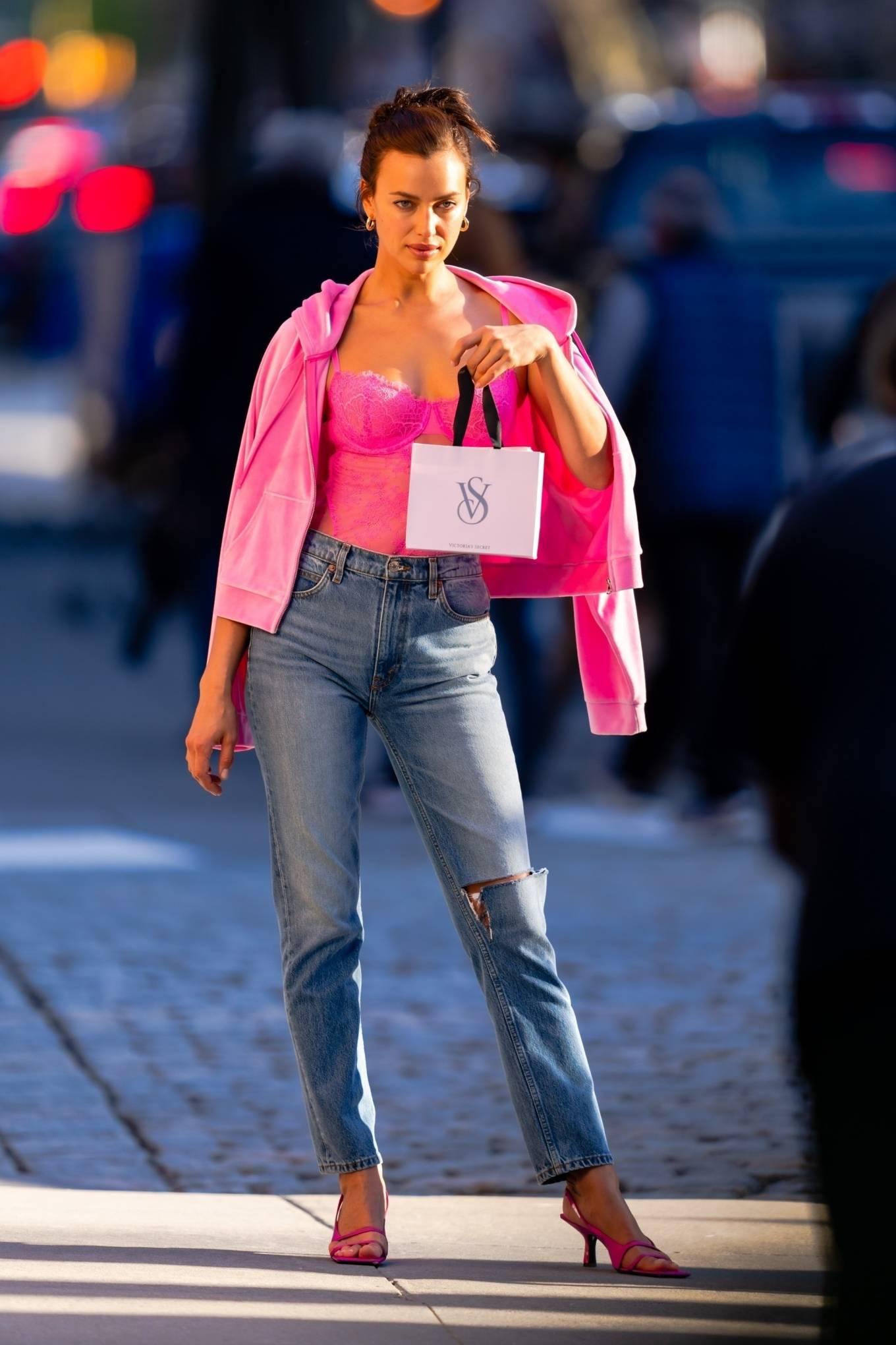 Irina Shayk 2021 : Irina Shayk – Victorias Secret photoshoot in New York-06