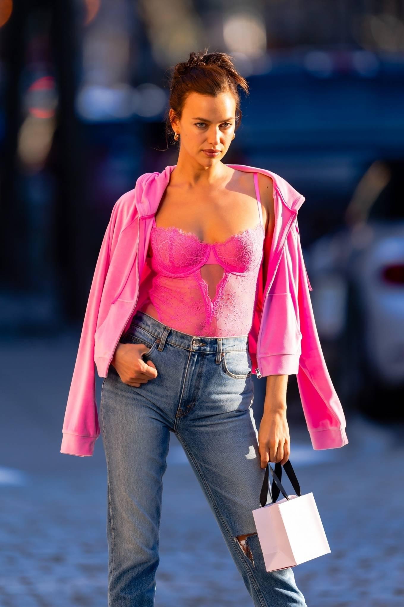 Irina Shayk 2021 : Irina Shayk – Victorias Secret photoshoot in New York-07