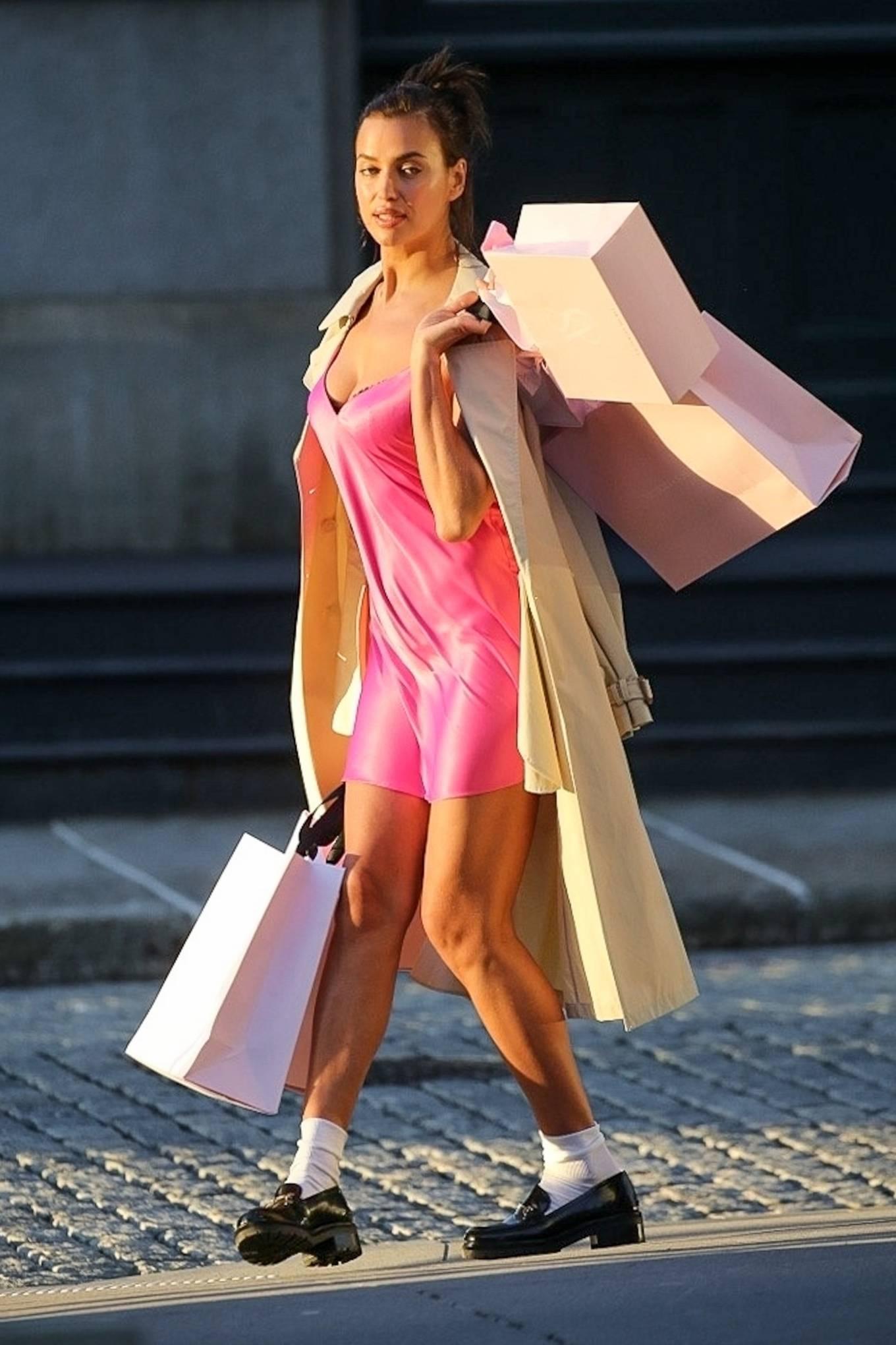 Irina Shayk 2021 : Irina Shayk – Victorias Secret photoshoot in New York-10