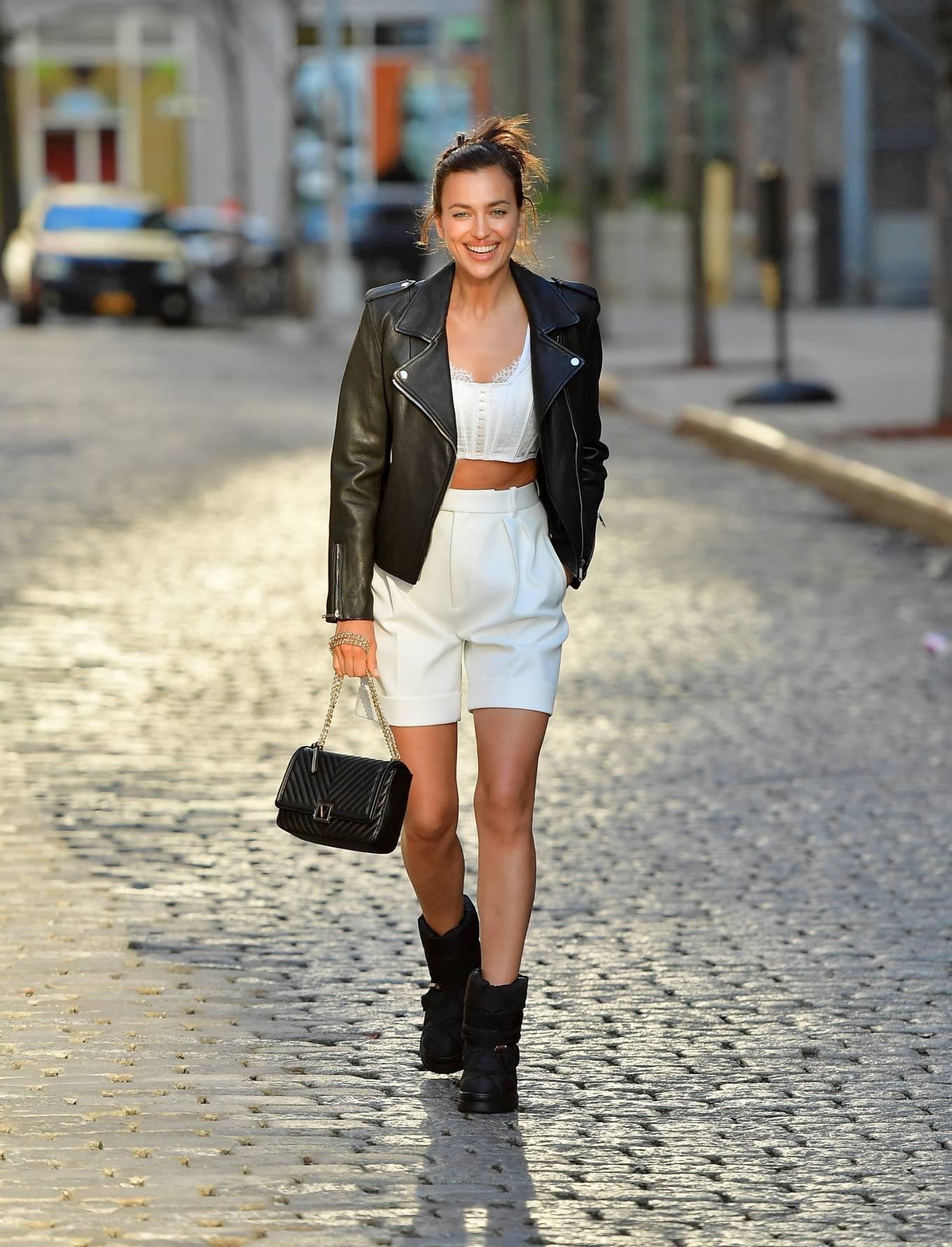 Irina Shayk 2021 : Irina Shayk – Victorias Secret photoshoot in New York-14