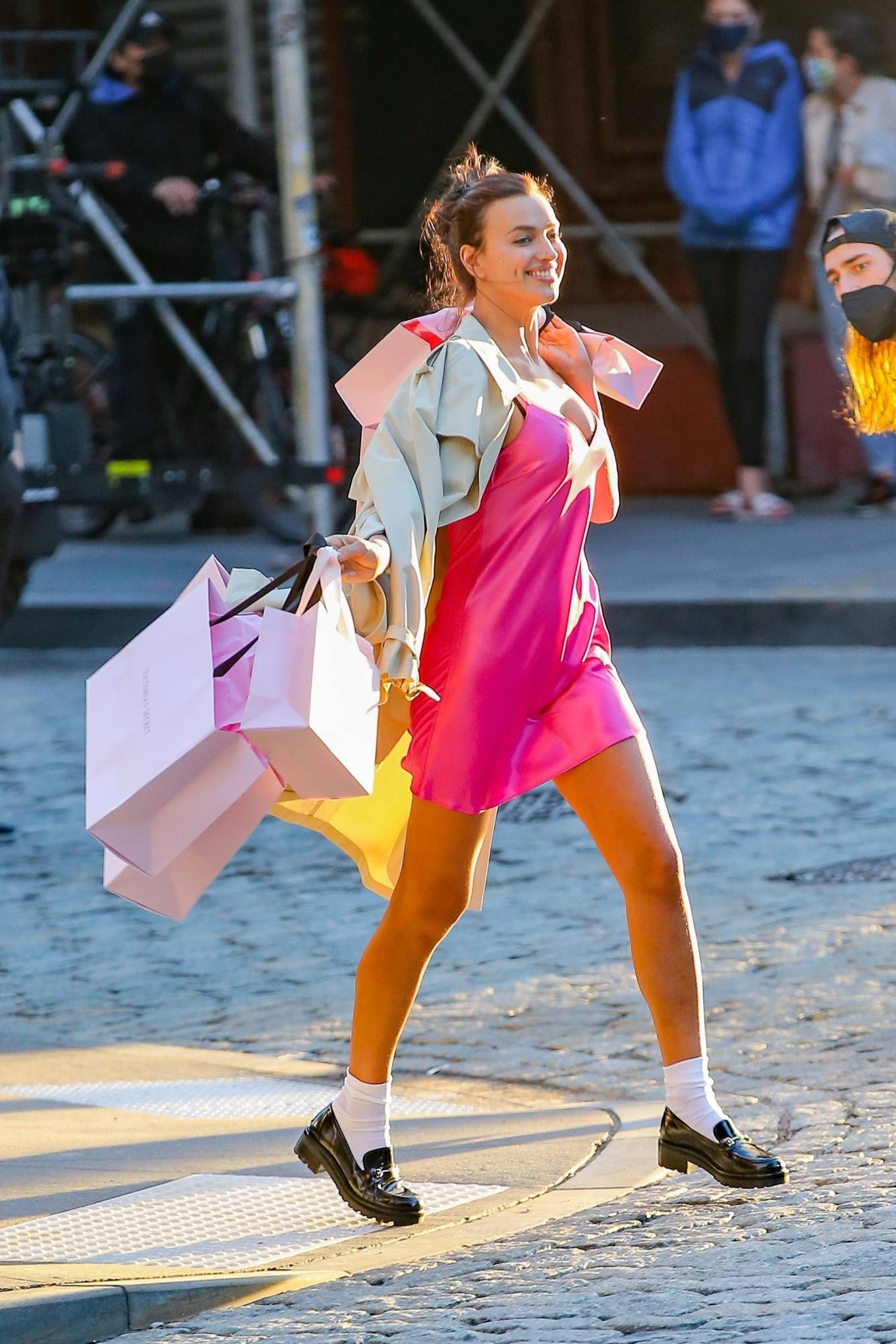 Irina Shayk 2021 : Irina Shayk – Victorias Secret photoshoot in New York-16