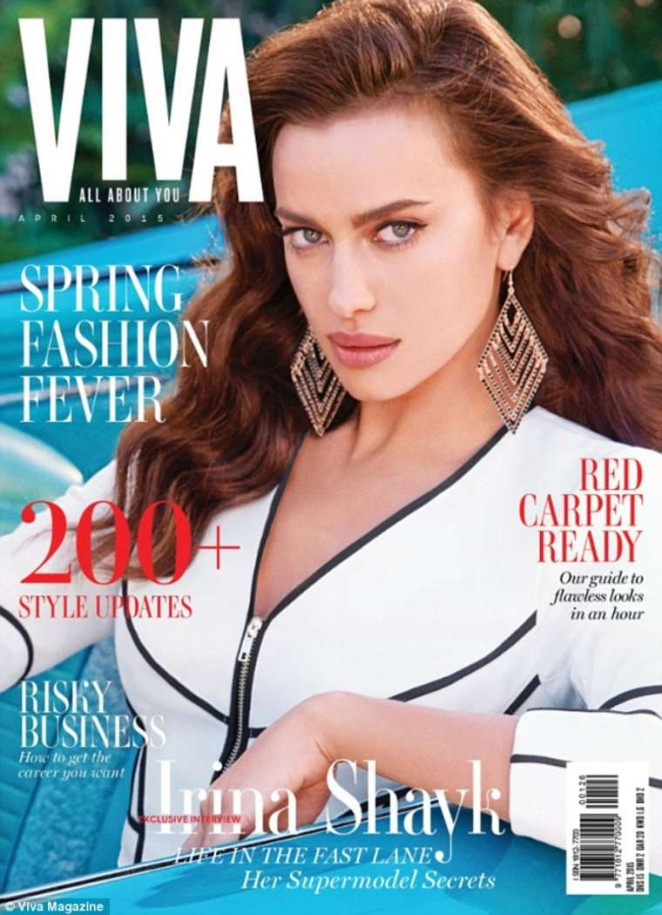 Irina Shayk - Viva Magazine Cover (April 2015)