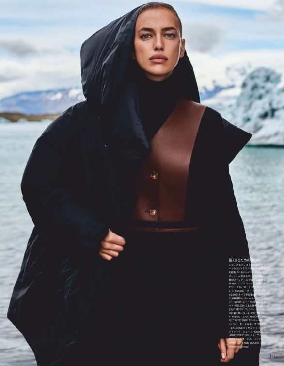 Irina Shayk - Vogue Japan Magazine (February 2020)