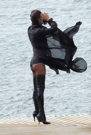 Irina Shayk - Vogue photoshoot in Lake Como