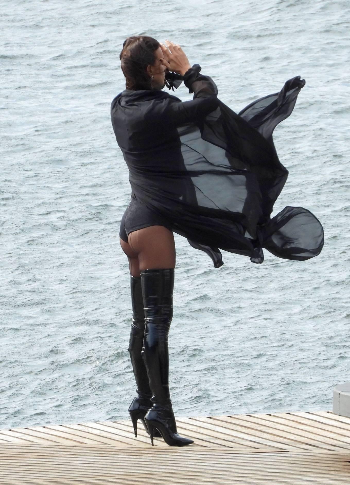 Irina Shayk - Vogue photoshoot in Lake Como