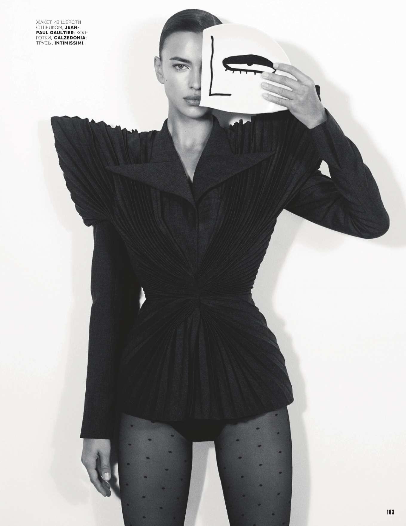 Irina Shayk - Vogue Russia Magazine (December 2019)