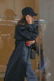 Irina Shayk was pictured in NY