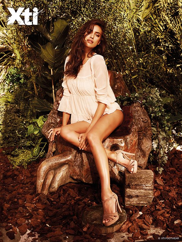 Irina Shayk - Xti S/S 2015 Collection
