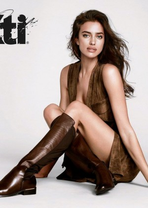 Irina Shayk - XTI Fall / Winter 2015 Ad Campaign