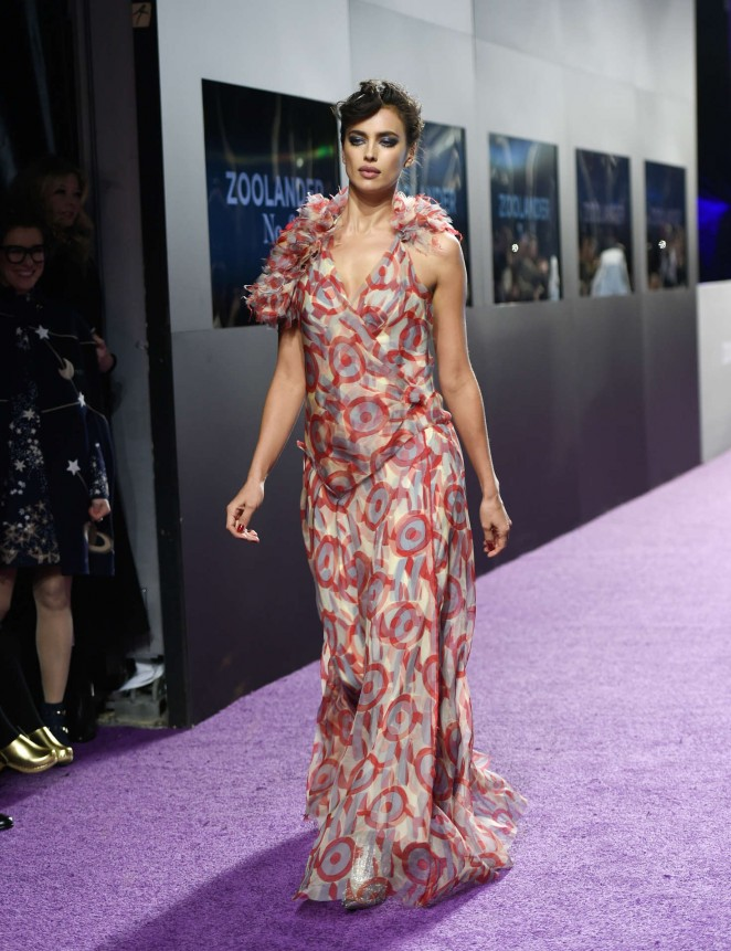 Irina Shayk - 'Zoolander 2' Premiere in New York