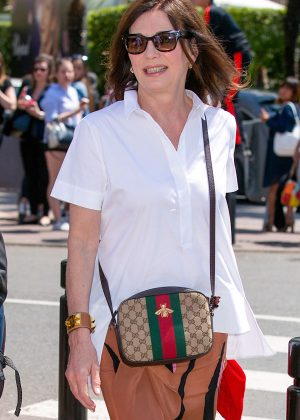 Iris Berben out and about in Cannes