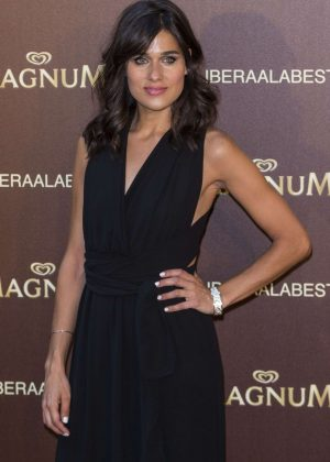 Iris Delgado - Magnum New Campaign Presentation in Madrid