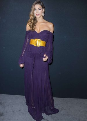 Iris Mittenaere - 2018 Charity Dinner hosted by the AEM Association Children in Paris