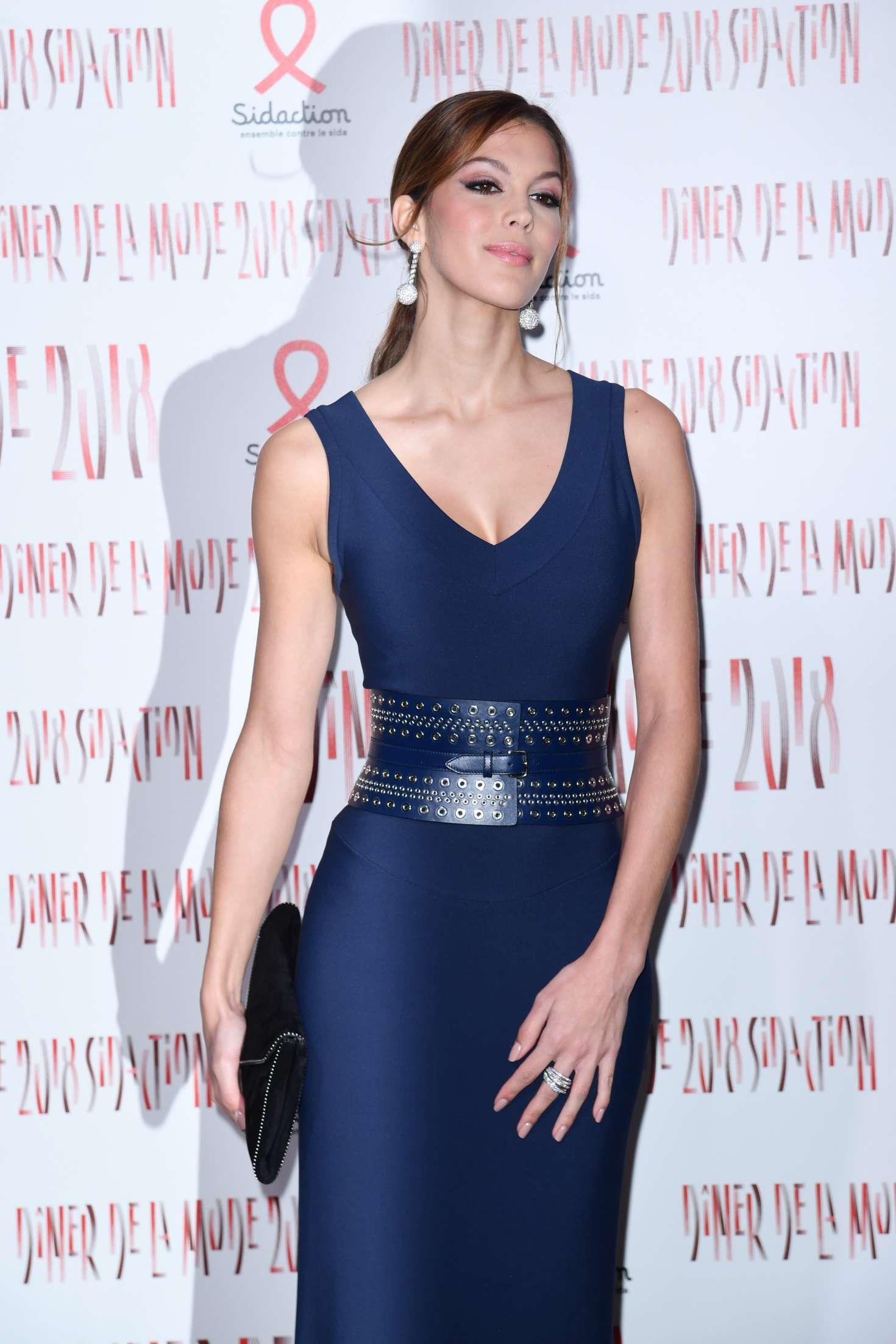 Iris Mittenaere - 2018 Sidaction Gala in Paris