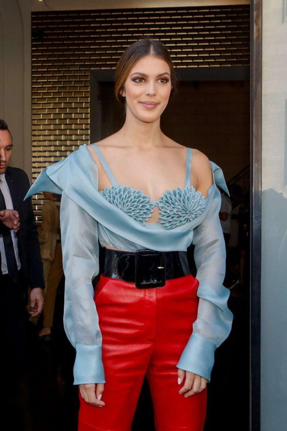 Iris Mittenaere - 2019 Paris Fashion Week - Jean Paul Gaultier Haute Haute Couture FW 19-20