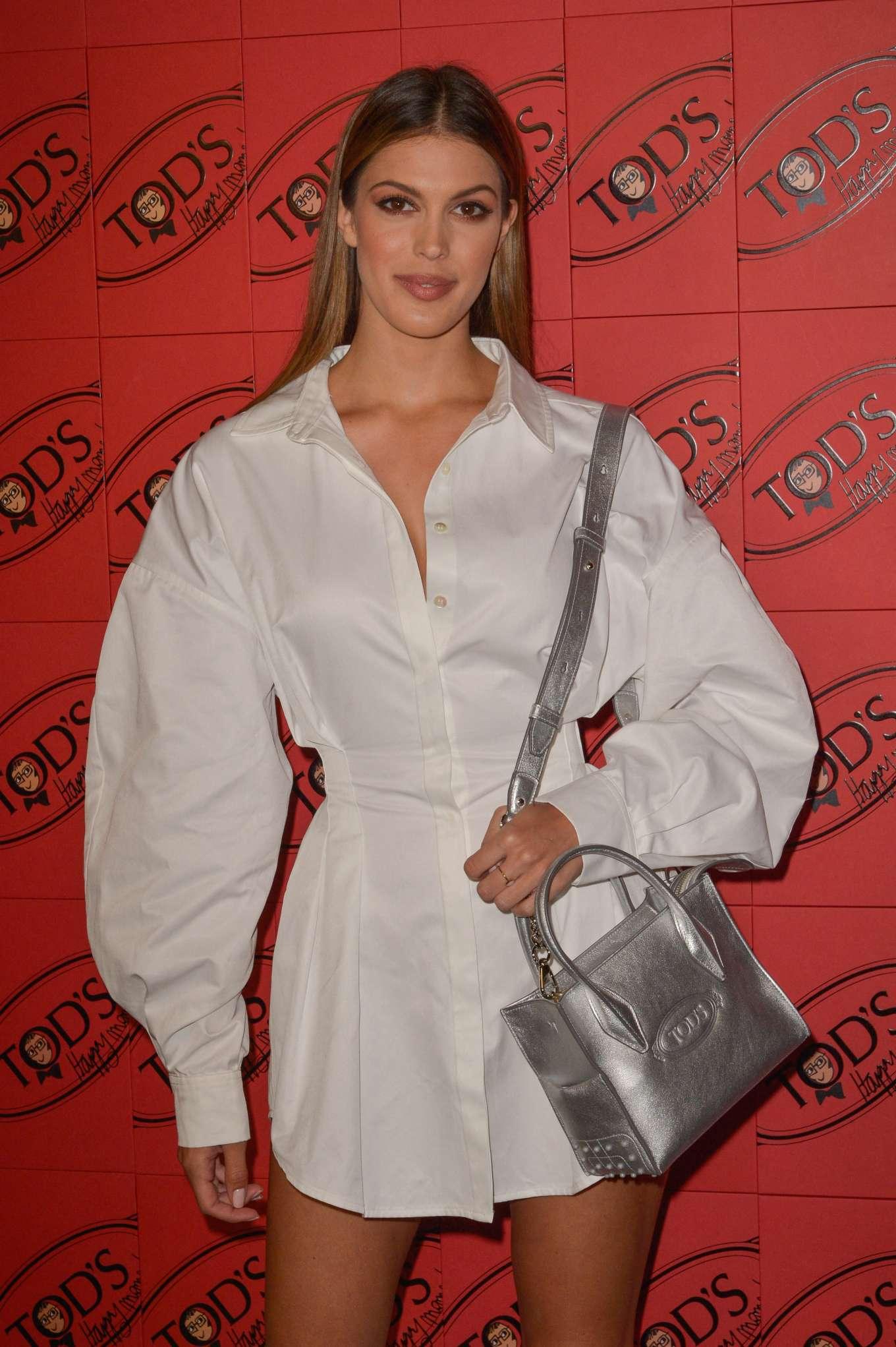 Iris Mittenaere - 2019 Paris Fashion Week - Tod's x Alber Elbaz Happy Moments Party