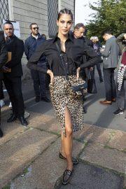 Iris Mittenaere - Arrives to Tod's Fashion Show at Milan Fashion Week