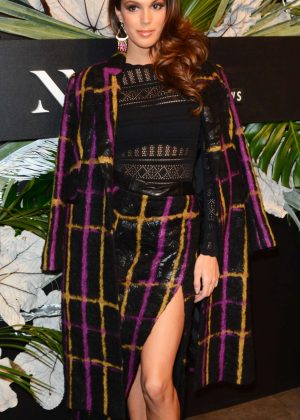 Iris Mittenaere - E!, Elle and Img Host Kickoff Party in New York