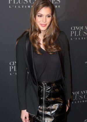 Iris Mittenaere - 'Fifty Shades Freed' Premiere in Paris