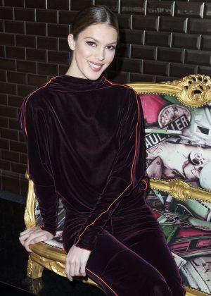 Iris Mittenaere - Jean-Paul Gaultier Haute Couture SS 2018 Show in Paris