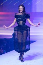 Iris Mittenaere - Jean-Paul Gaultier Runway Show in Paris