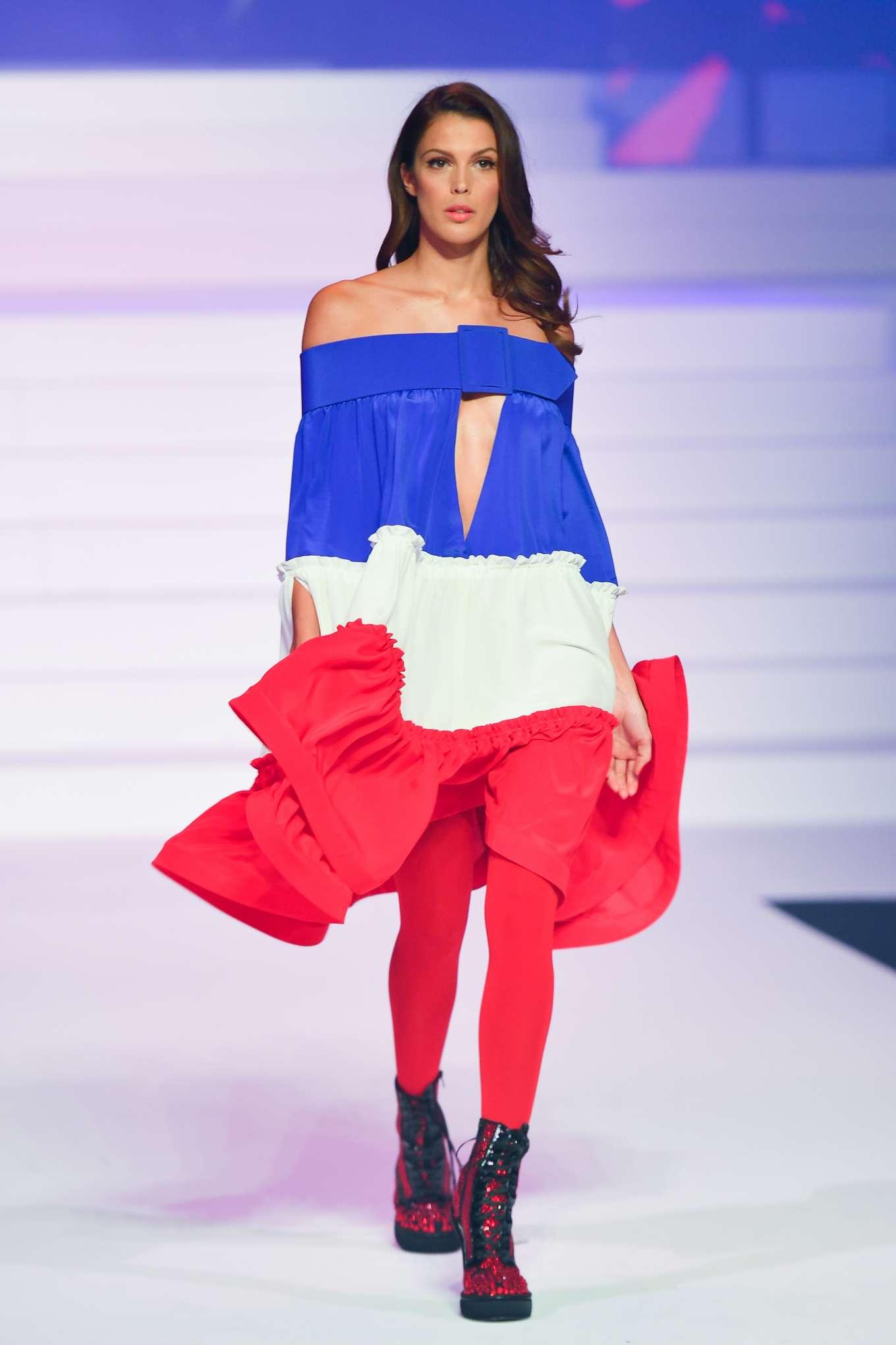 Iris Mittenaere 2020 : Iris Mittenaere – Jean-Paul Gaultier Runway Show in Paris-10
