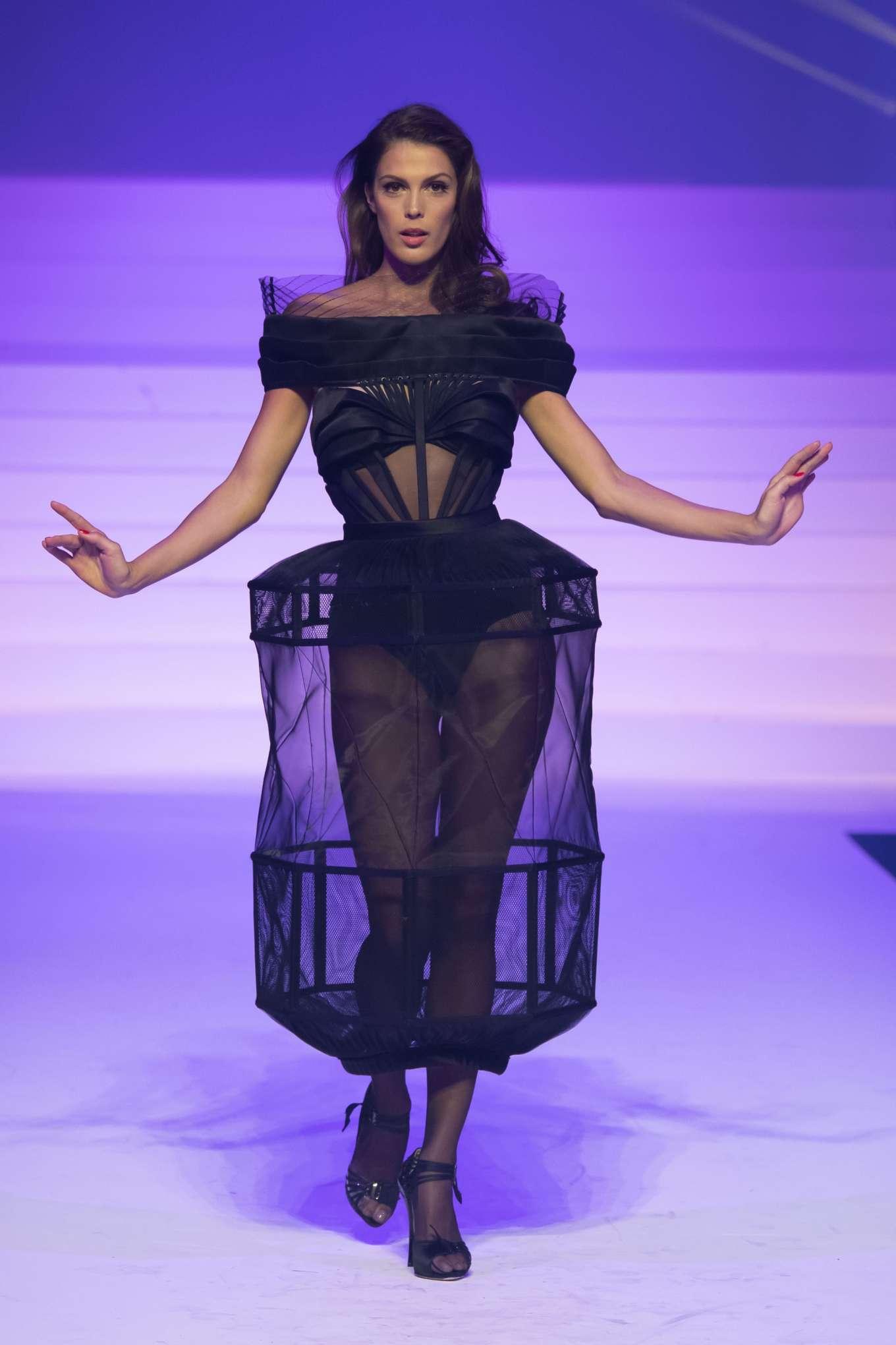 Iris Mittenaere 2020 : Iris Mittenaere – Jean-Paul Gaultier Runway Show in Paris-12
