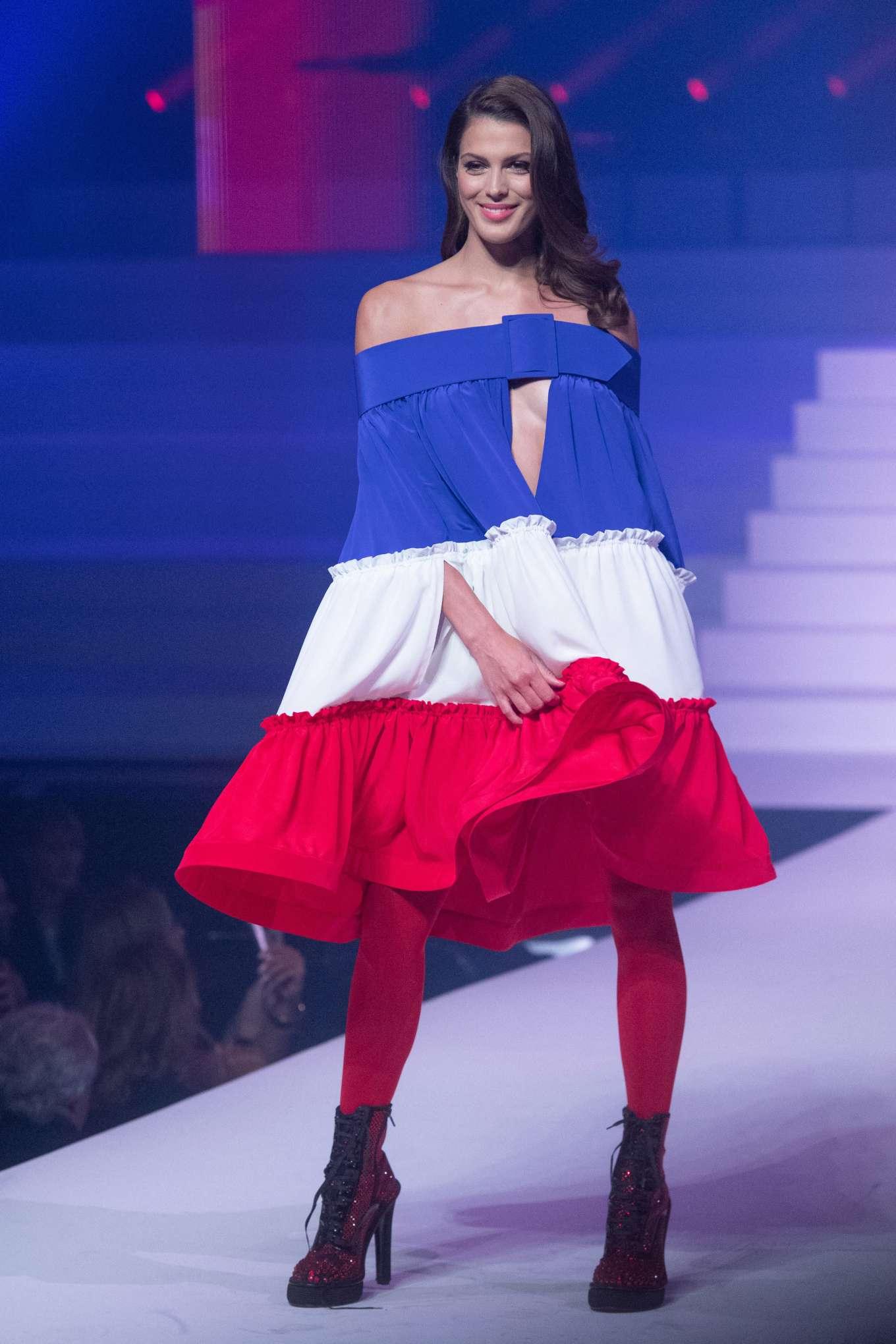 Iris Mittenaere 2020 : Iris Mittenaere – Jean-Paul Gaultier Runway Show in Paris-14