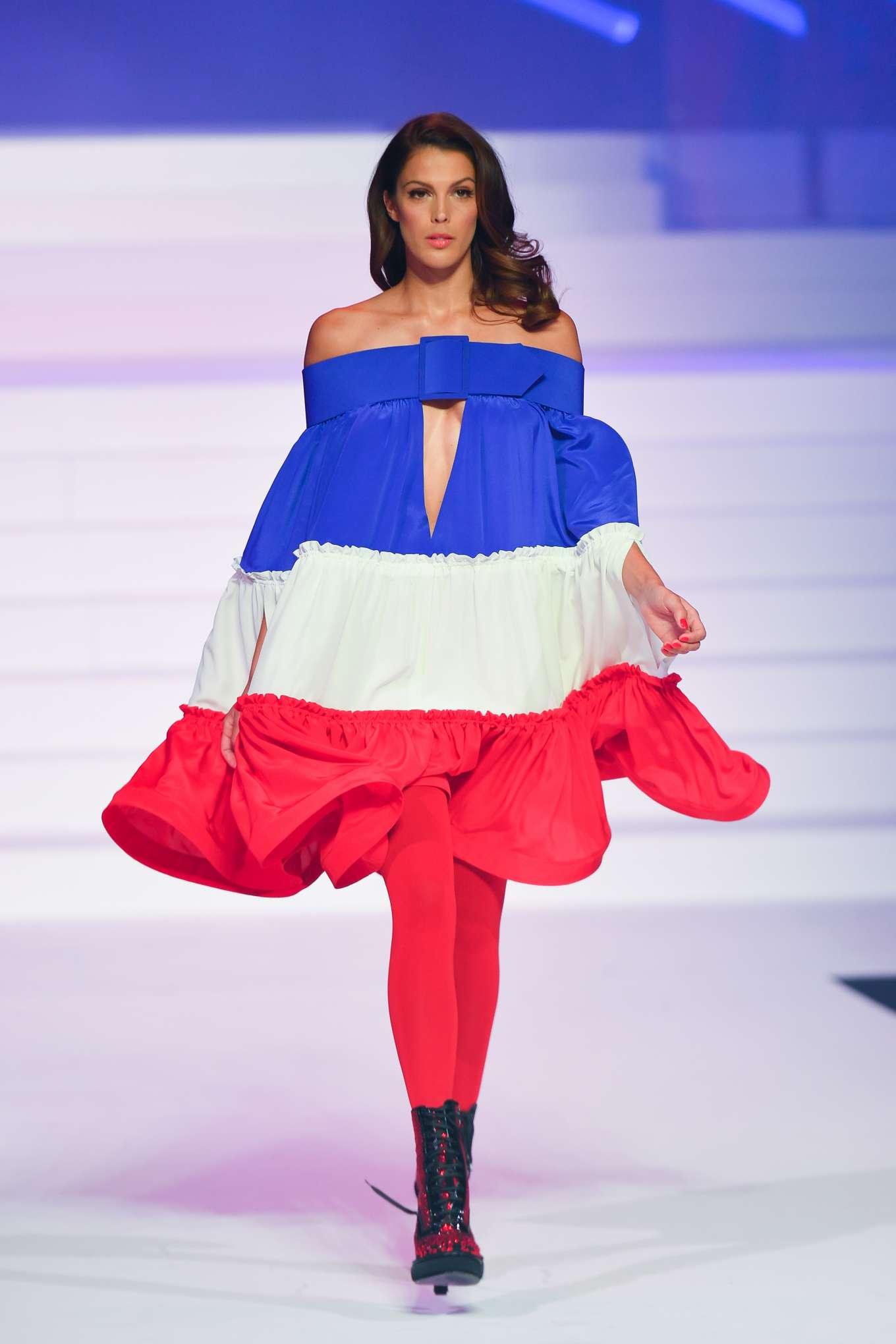 Iris Mittenaere 2020 : Iris Mittenaere – Jean-Paul Gaultier Runway Show in Paris-16