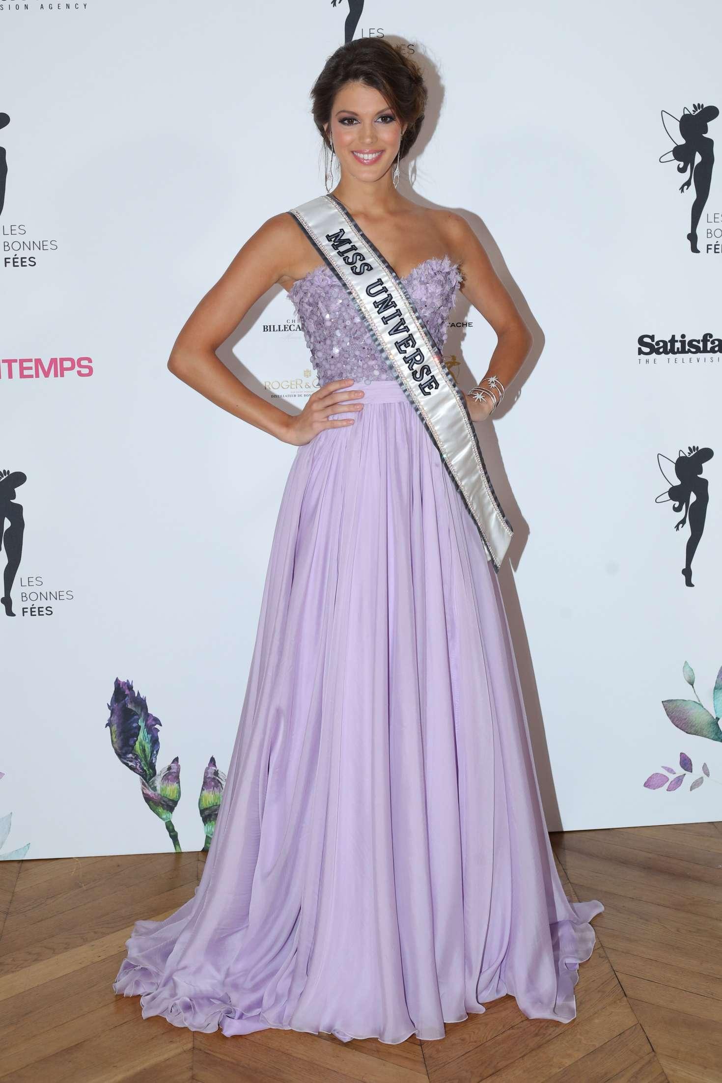 Iris Mittenaere – Les Bonnes Fees Charity Gala in Paris