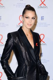 Iris Mittenaere - Sidaction Gala Dinner 2020 at Pavillon Cambon in Paris