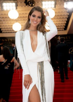 Iris Mittenaere - 'Sorry Angel' Premiere at 2018 Cannes Film Festival