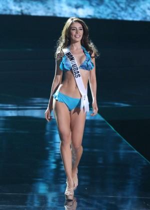 Iroshka Elvir - Miss Universe 2015 Preliminary Round in Las Vegas