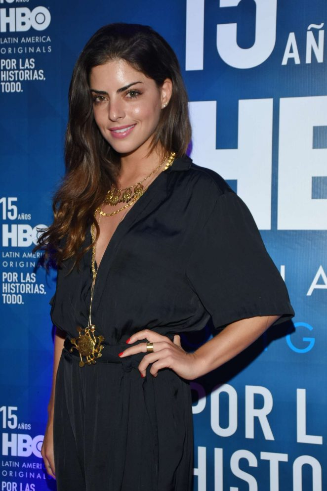 Isabel Burr - 15th HBO Latin America in Mexico City
