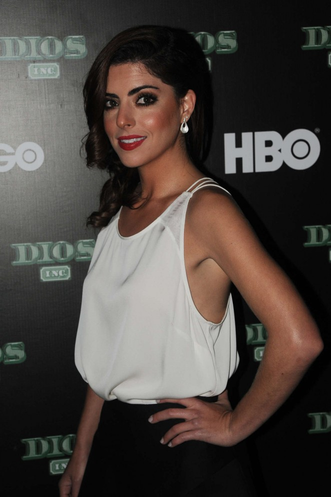 Isabel Burr – 'Dios Inc' Original TV Series by HBO at Bar Americana in Mexico City