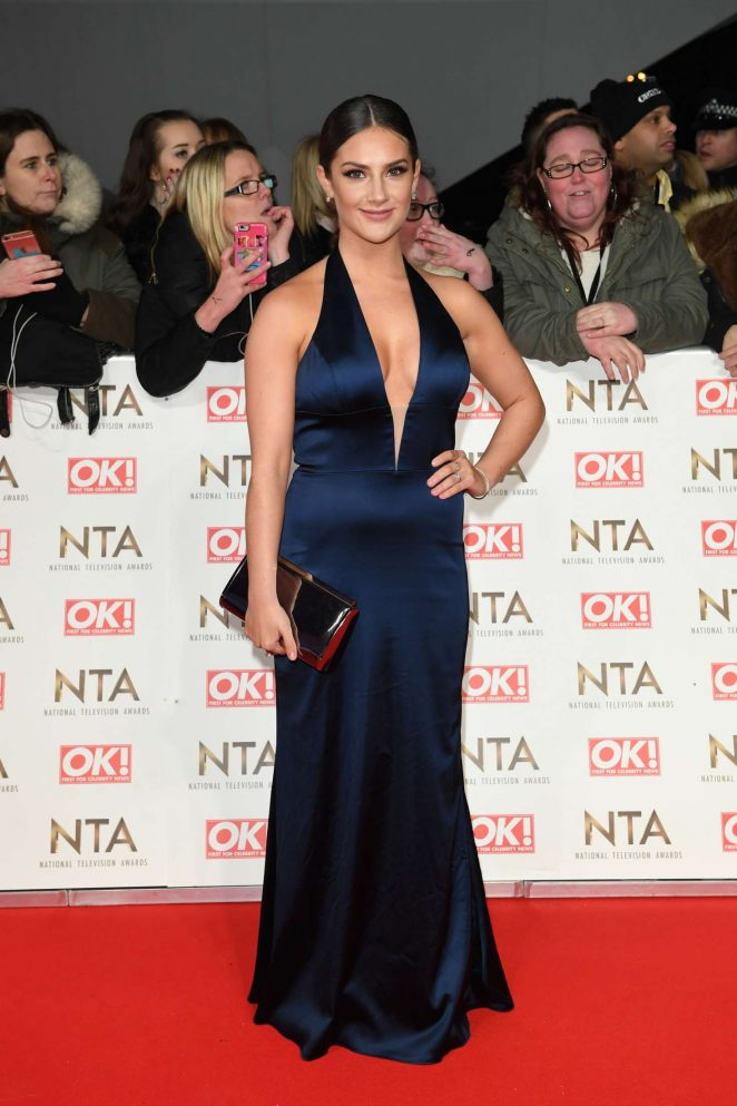 Isabel Hodgins - 2017 National Television Awards in London