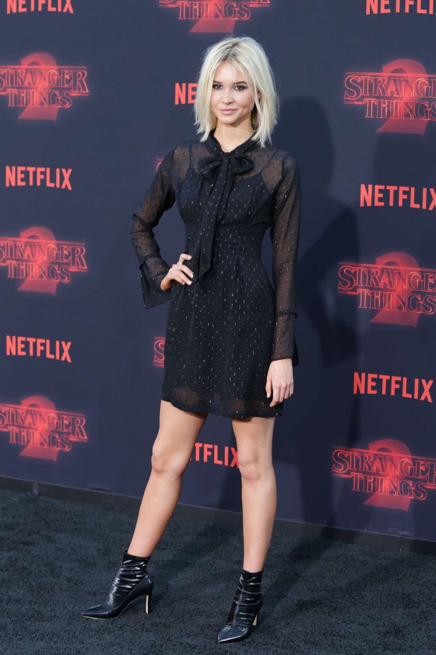 Isabel May: Stranger Things 2 Premiere -04 - GotCeleb