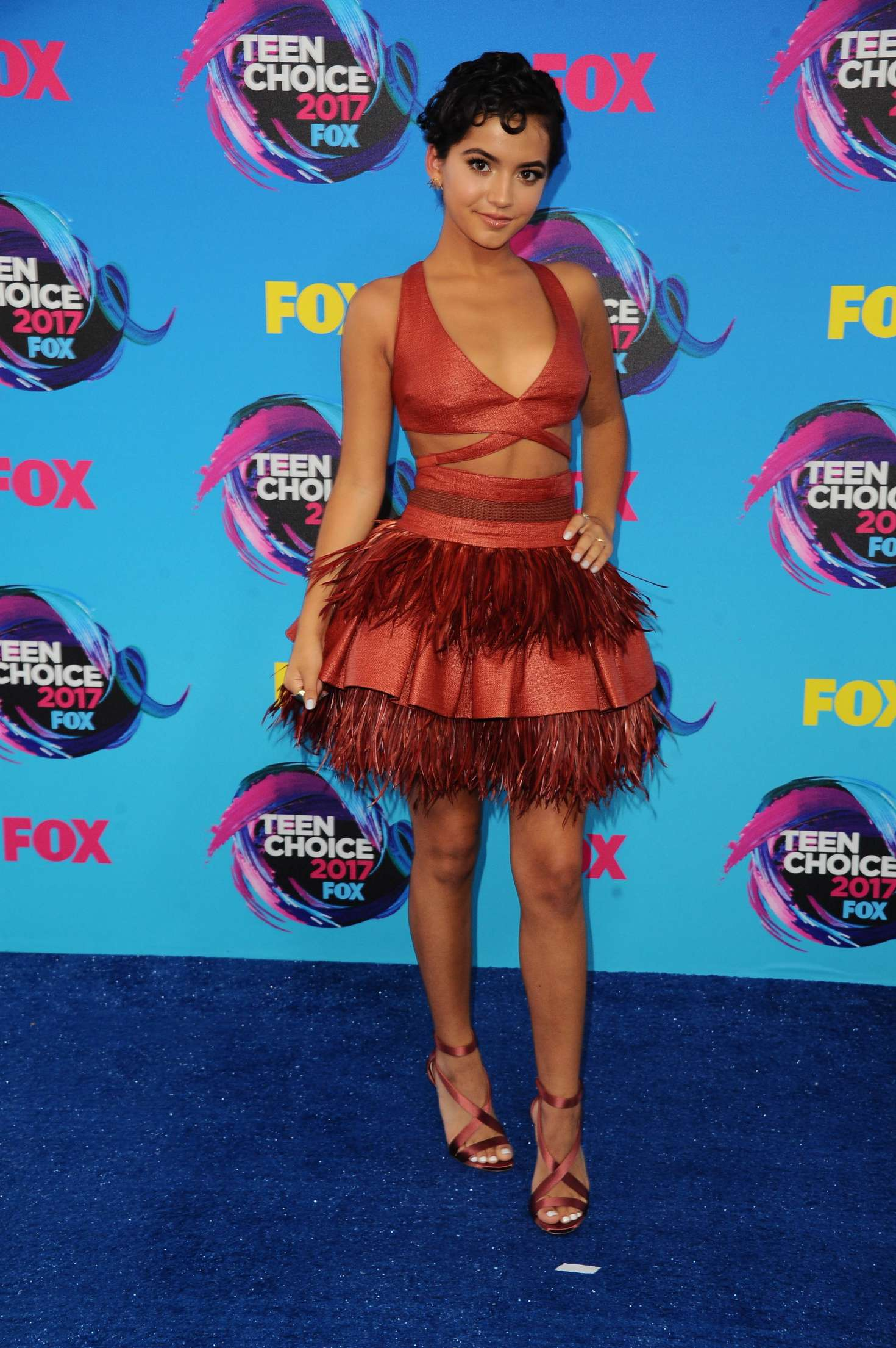 Isabela Moner 2017 : Isabela Moner: 2017 Teen Choice Awards -02