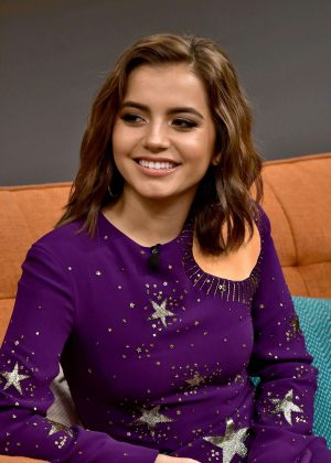 Isabela Moner - Appears on the 'Despierta America' TV show in Miami